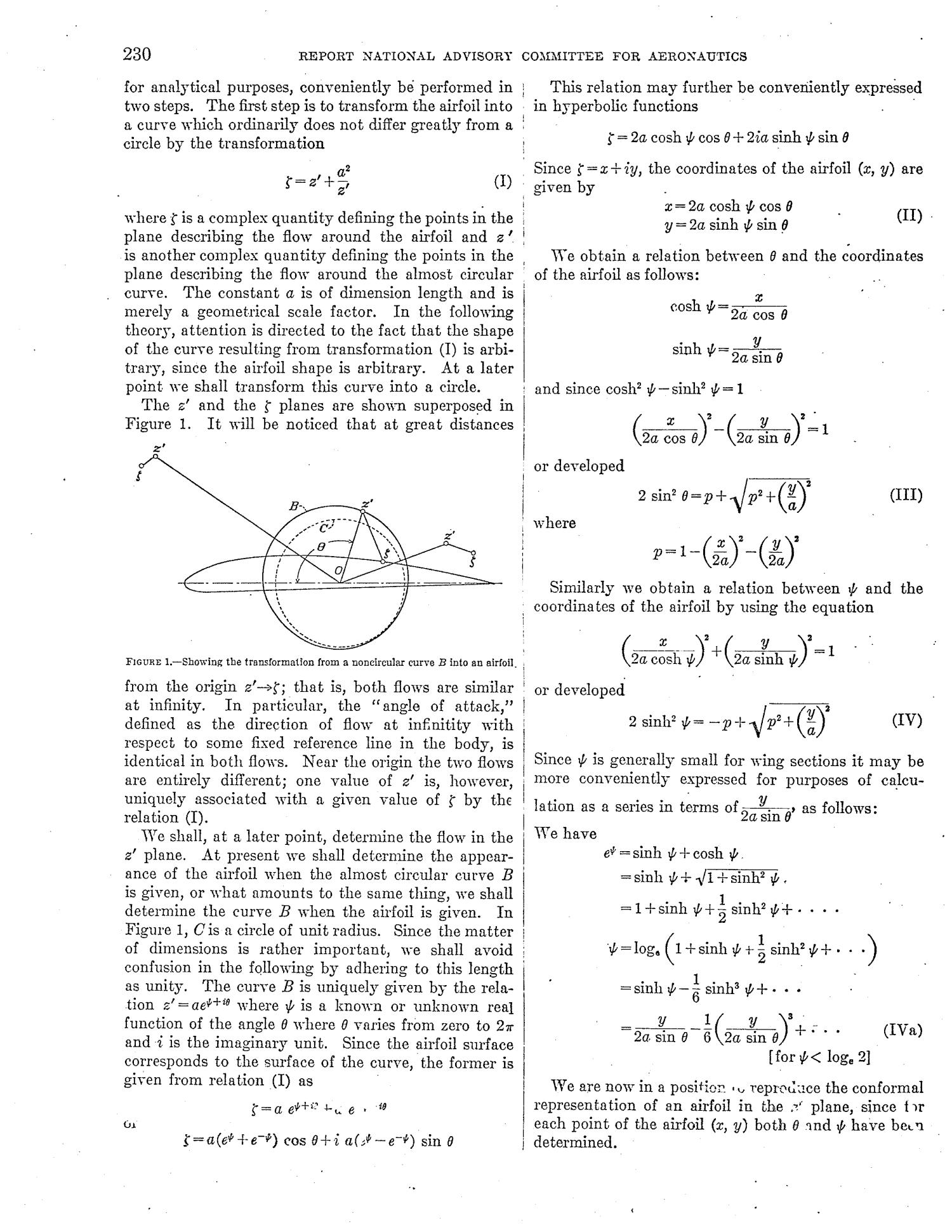 Theory of Wing Sections of Arbitrary Shape - Page 4 of 14 ...