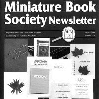 Miniature Book Society Newsletter