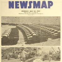 World War Two Newsmaps